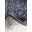 Vigor CPT330B puha bolyhos hosszú szálú shaggy szőnyeg 120 X 170 cm szürke cirmos