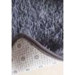 Puha bolyhos hosszú szálú shaggy szőnyeg Vigor CPT345B 120 X 170 cm szürke