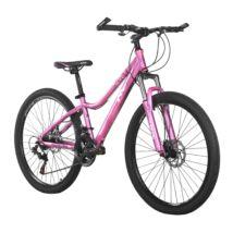 """MAKE B062 női erősített teleszkóp tárcsfék 21 sebesség 26""""-os rózsaszín MTB kerékpár"""