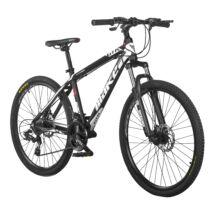 """MAKE GTR B064 aluminium váz teleszkóp tárcsafék 24 sebesség 26""""-os fekete MTB kerékpár"""