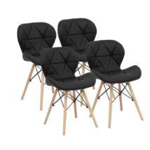 Vigor OC103 Rome 4 darab szék fekete étkezőszék