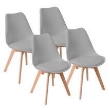 Vigor OC104 HAVANNA 4 darab szék szürke étkezőszék