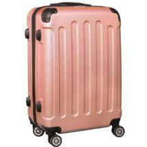 VIGOR Traveling 8  ABS guruló aranyvörös bőrönd 55 cm