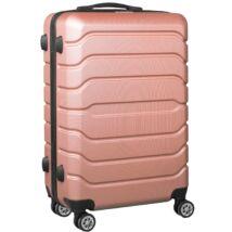 VIGOR Traveling 9  ABS guruló aranyvörös bőrönd 55 cm