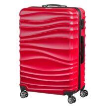 VIGOR Traveling 3,  ABS, guruló, piros  bőrönd 55 cm