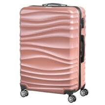 VIGOR Traveling 3,  ABS, guruló, aranyvörös bőrönd 75 cm
