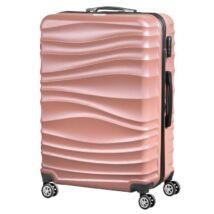 VIGOR Traveling 3,  ABS, guruló, aranyvörös bőrönd 55 cm