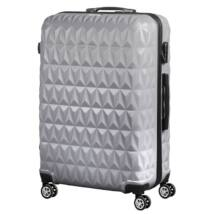 VIGOR Traveling 6, ABS, guruló, szürke bőrönd 75 cm