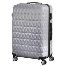 VIGOR Traveling 6,  ABS, guruló, szürke bőrönd 55 cm