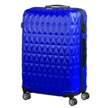 VIGOR Traveling 6  ABS, guruló,kék bőrönd 65 cm