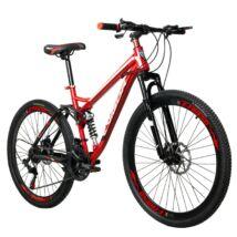 """Vigor  BLJ059   Mountain bike  26"""" 21 sebességes kerékpár összteleszkópos Piros"""