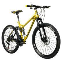 """Vigor  BLJ059   Mountain bike  26"""" 21 sebességes kerékpár összteleszkópos Sárga"""