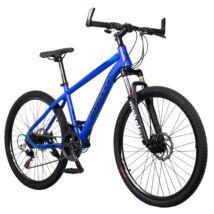 """MAKE T4 B068 teleszkóp tárcsafék 21 sebesség 26""""-os kerekek 17"""" váz MTB kerékpár kék"""