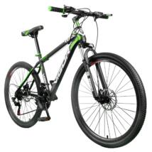 """Vigor B030-fekete-zöld MTB kerékpár teleszkóp tárcsafék 26""""-os 21 sebességes"""