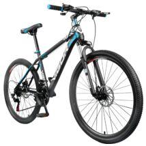 """Vigor B030-fekete-kék MTB kerékpár teleszkóp tárcsafék 26""""-os 21 sebességes"""