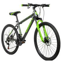 """Vigor B25  26""""-os, 21 sebességes, fekete-zöld MTB kerékpár"""