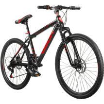 """Vigor B33  26""""-os, 21 sebességes, teleszkóp tárcsafék MTB kerékpár, fekete-piros"""