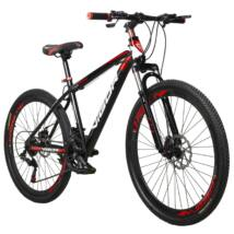 """Vigor  BLJ057 27,5""""-os, 21 sebességes MTB kerékpár, fekete-piros"""