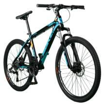 """MAKE GTR B064 aluminium váz teleszkóp tárcsafék 24 sebesség 26""""-os kék MTB kerékpár"""