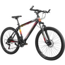 """MAKE X896 B090 alumínium váz teleszkóp tárcsafék 21 sebesség 26""""-os kerekek 17"""" váz MTB kerékpár fekete-piros"""