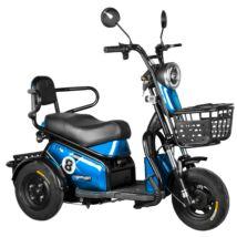 Vigor EB08 elektromos háromkerekű robogó motor tricikli kék