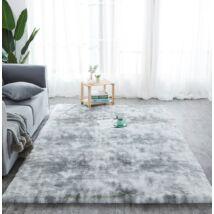 Puha bolyhos hosszú szálú shaggy szőnyeg Vigor CPT335C 160 X 230 cm szürke cirmos