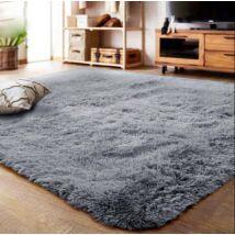 Puha bolyhos szálú shaggy szőnyeg Vigor CPT355B  120 X 160 cm kékesszürke