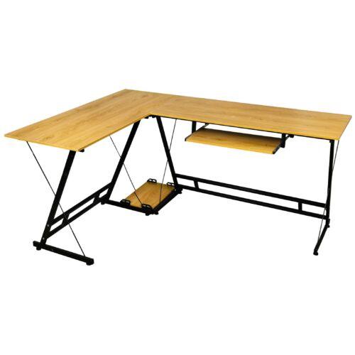L alakú irodai asztal íróasztal Vigor OT-OAK Tölgy