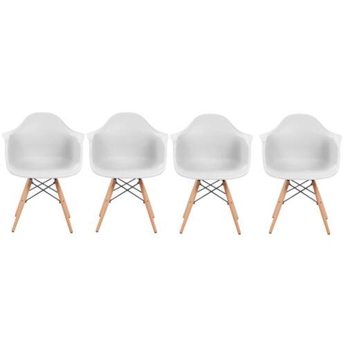 Vigor OC102 MEMPHIS 4 darab szék fehér étkezőszék