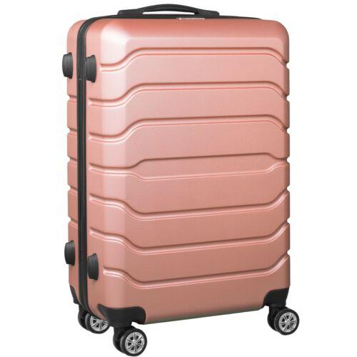 VIGOR Traveling 9 ABS guruló aranyvörös bőrönd 75 cm