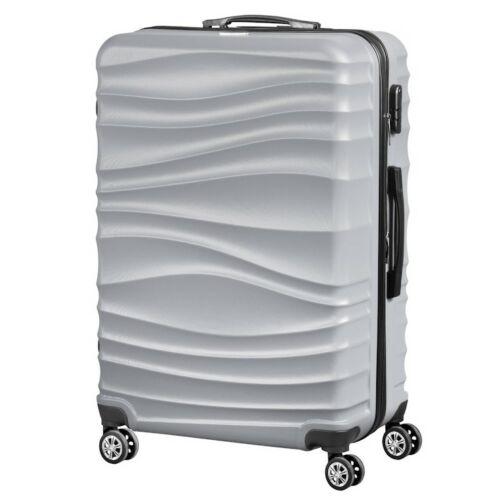 VIGOR Traveling 3,  ABS, guruló, szürke bőrönd 75 cm