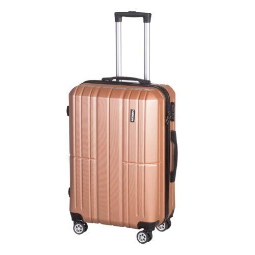 VIGOR Traveling 5,  ABS, guruló, aranyvörös bőrönd 75 cm