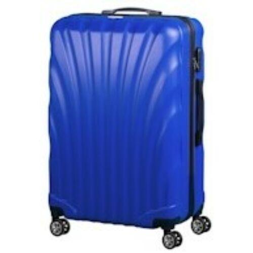 VIGOR Traveling 7,  ABS, guruló, kék bőrönd 75 cm