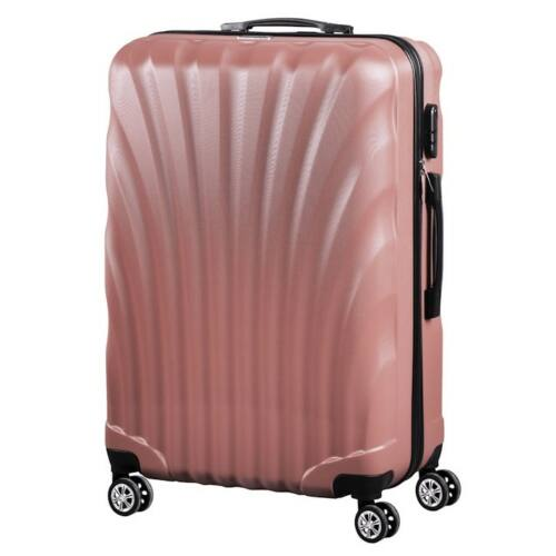 VIGOR Traveling 7,  ABS, guruló, aranyvörös bőrönd 75 cm