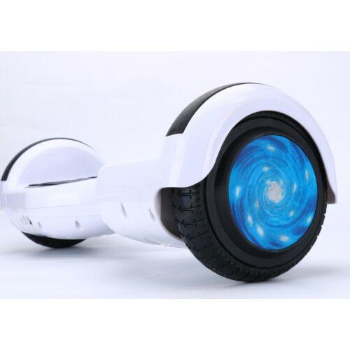 "Vigor ES31 500W elektromos hoverboard fehér 6,5"" / 16cm bluetooth hangszóró autobalance LED"