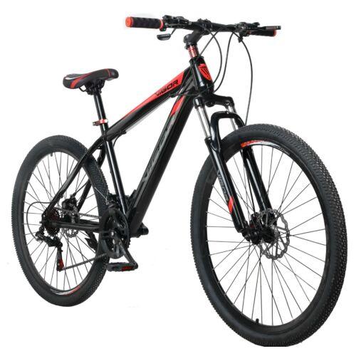 """Vigor  BLJ058 27,5""""-os 21 sebességes MTB kerékpár fekete-piros"""