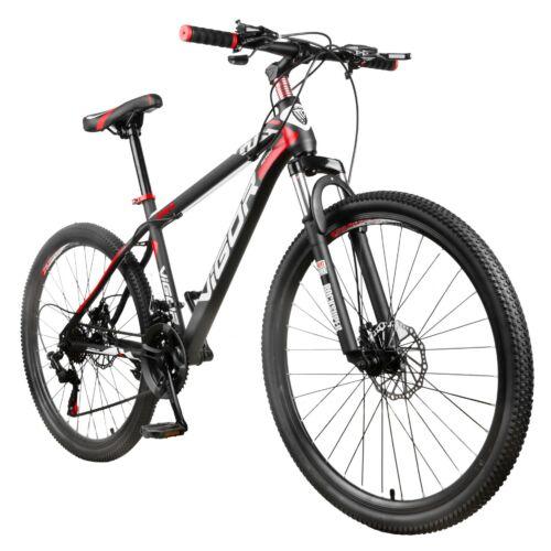 """Vigor B030-fekete-piros MTB kerékpár teleszkóp tárcsafék 26""""-os 21 sebességes"""