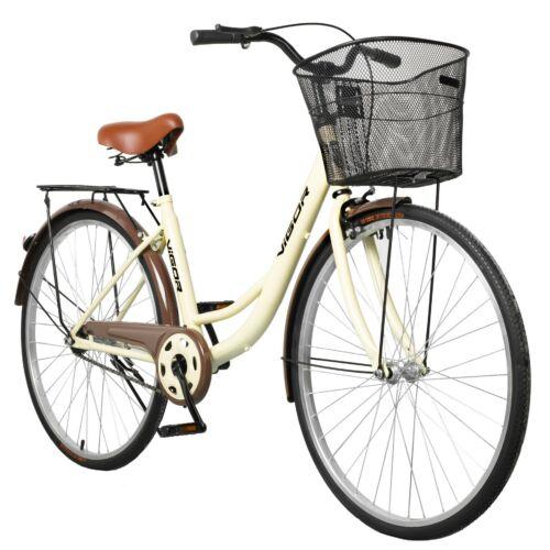 """Vigor B32 alacsony átlépésű 26"""" utcai kerékpár bézs"""