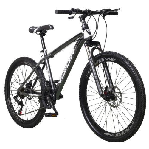 """Vigor  BLJ057 27,5""""-os, 21 sebességes MTB kerékpár, fekete-szürke"""