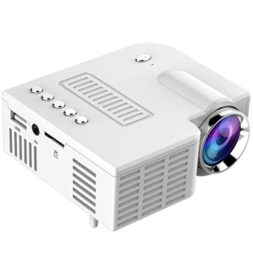 Vigor LP01 USB mini LED projektor kivetítő fehér