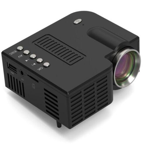 Vigor LP01 USB mini LED projektor kivetítő fekete