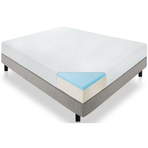 VIGOR MAT501A  14+2 cm-es memóriahabos matrac, mosható, Zipp-záras huzattal, 90 x 200 cm