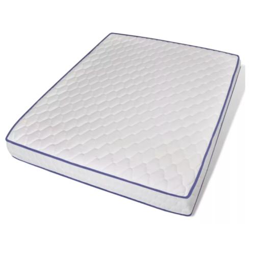 MAT303C  habszivacs matrac huzattal 160cm széles 16cm vastag 0,7 cm memória réteggel