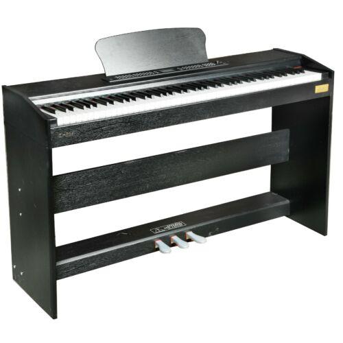 Digitális Zongora Pianino 88 billentyű Kalapácsmechanikás Vigor V806 Hammer