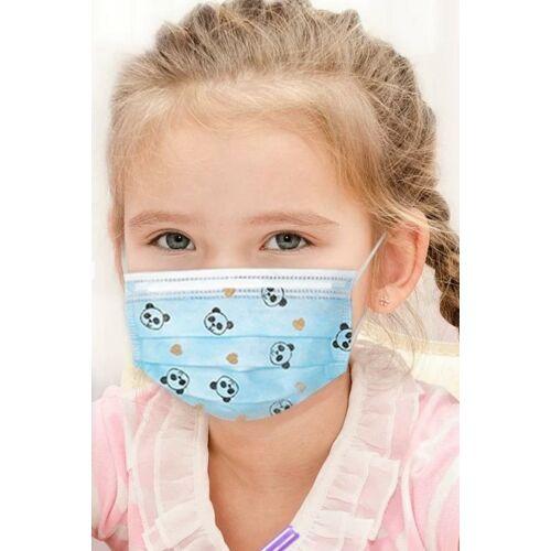 vigor mask 301 1db gyerek kisméretű egészségügyi szájmaszk arcmaszk maszk 3 rétegű