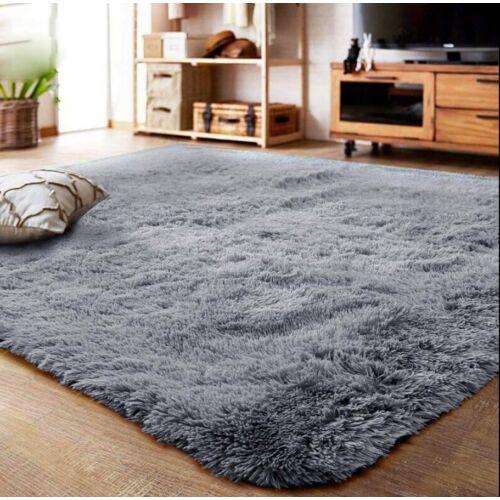 Puha bolyhos szálú shaggy szőnyeg Vigor CPT355C  160 X 230 cm kékesszürke